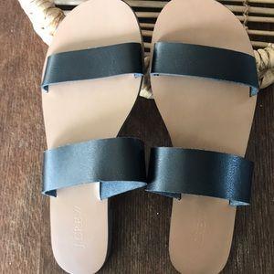 J. Crew double strap sandals